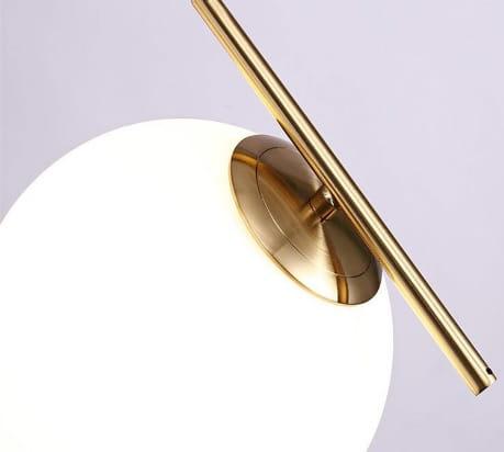 White Ball. Nowoczesna lampa wisząca biała kula 30cm | sklep