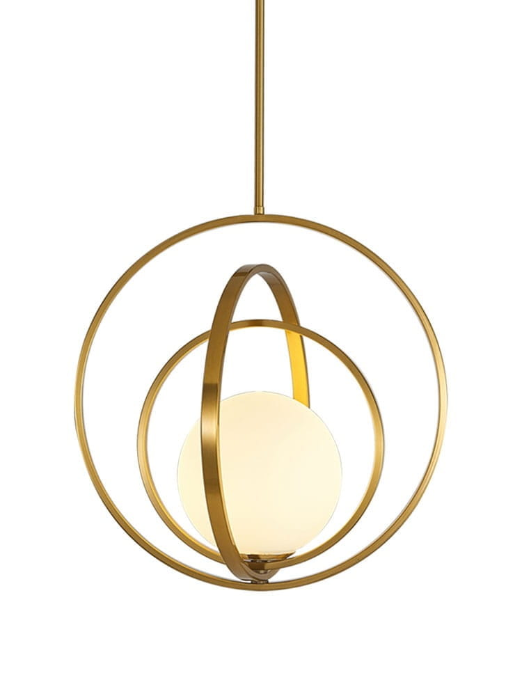 White Ball Evol 3 – biała kula lampa wisząca | sklep Domodes