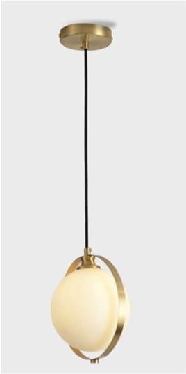 White Ball Evol 1 – biała kula lampa wisząca | sklep Domodes